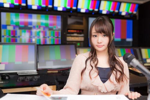 女子アナのライブ中継01